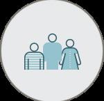 לוגו מבט על אוכלוסיות מגוונות בישראל  – עובדים עם מוגבלות