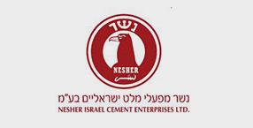 לוגו נשר מפעלי מלט ישראליים