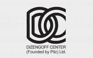 """לוגו דיזנגוף סנטר מיסודו של פילץ בע""""מ"""