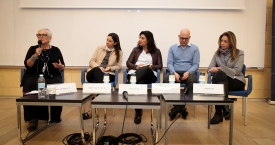 לוגו פאנל שילוב כוחות תלת מגזרי לקידום גיוון, המקרה של קולקטיב אימפקט- השותפות לקידום תעסוקה בחברה הערבית